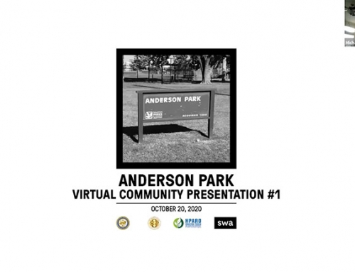 Video of the Anderson Park Master Plan Community Meeting 1 – October 20, 2020