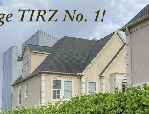 The TIRZ No. 1 Strategic Plan is Complete!